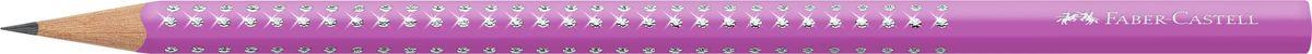 Faber-Castell Карандаш чернографитный Sparkle Summer цвет фуксия118302Трехгранный карандаш Sparkle, • мировой бестселлер от Faber-Castell • уникальный дизайн с эффектом жемчужин • эргономичная трехгранная область захвата с массажной поверхностью GRIP • твердость грифеля B для удобного письма • 3 тематических группы цветов • весна: пастельные цвета • лето: неоновые цвета • осень: металлические цвета, цвет фуксия