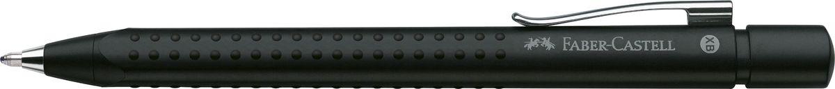 Faber-Castell Ручка шариковая Grip 2011 цвет черный ручка капилярная faber castell 152599