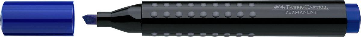 Faber-Castell Маркер перманентный Grip 1503 цвет синий150351Перманентный маркер с клиновидным наконечником Faber-Castell идеален для любых поверхностей.Быстро сохнет, устойчив квоздействию воды и стиранию. Характеристики:- эргономичная трехгранная область захвата;- привлекательный полупрозрачный дизайн; - простая система повторного наполнения чернилами.