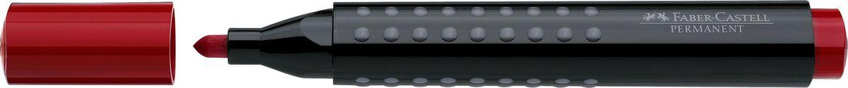 Faber-Castell Маркер перманентный Grip 1504 цвет красный150421Перманентный маркер с круглым наконечником Faber-Castell идеален для любых поверхностей.Быстро сохнет, устойчивы квоздействию воды и стиранию. Характеристики:- эргономичная трехгранная область захвата;- привлекательный полупрозрачный дизайн; - простая система повторного наполнения чернилами.