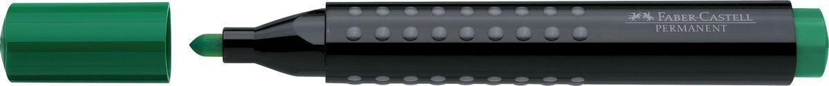 Faber-Castell Маркер перманентный Grip 1504 цвет зеленый150463Перманентный маркер с круглым наконечником Faber-Castell идеален для любых поверхностей.Быстро сохнет, устойчив квоздействию воды и стиранию. Характеристики:- эргономичная трехгранная область захвата;- привлекательный полупрозрачный дизайн; - простая система повторного наполнения чернилами.