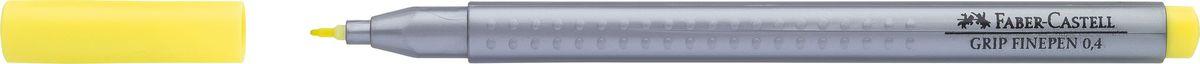 Faber-Castell Ручка капиллярная Grip цвет чернил желтый хром151606Капиллярная ручка Faber-Castell идеальна для письма, рисования, набросков. Она имеет эргономичную трехгранную форму.Характеристики: - запатентованная антискользящая зона Grip с малыми массажными шашечками; - толщина линии 0,4 мм, облегчает черчение с линейкой и рисование по шаблону); - корпус из полипропилена обеспечивает длительный срок хранения; - чернила на водной основе с добавлением пищевых красителей безопасны для детей; - вентилируемый колпачок; - отстирываются с большинства обычных тканей.