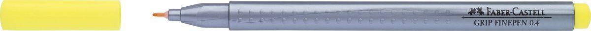 Faber-Castell Ручка капиллярная Grip цвет чернил желтый151607Капиллярная ручка Faber-Castell идеальна для письма, рисования, набросков. Она имеет эргономичную трехгранную форму.Характеристики: - запатентованная антискользящая зона Grip с малыми массажными шашечками; - толщина линии 0,4 мм, облегчает черчение с линейкой и рисование по шаблону); - корпус из полипропилена обеспечивает длительный срок хранения; - чернила на водной основе с добавлением пищевых красителей безопасны для детей; - вентилируемый колпачок; - отстирываются с большинства обычных тканей.
