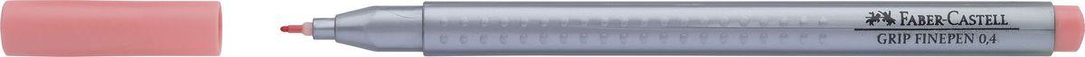 Faber-Castell Ручка капиллярная Grip 0,4 мм цвет чернил бежевый151629Капиллярные ручки Grip Finepen, трехгранные,эргономичная трехгранная форма • запатентованная антискользящая зона GRIP с малыми массажными шашечками • толщина линии 0,4 мм облегчает черчение с линейкой и рисование по шаблону) • корпус из полипропилена обеспечивает длительный срок хранения • чернила на водной основе с добавлением пищевых красителей безопасны для детей • вентилируемый колпачок • отстирываются с большинства обычных тканей, цвет темный телесный