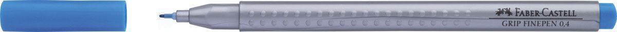 Faber-Castell Ручка капиллярная Grip цвет чернил светло-синий151647Капиллярная ручка Faber-Castell идеальна для письма, рисования, набросков. Она имеет эргономичную трехгранную форму.Характеристики: - запатентованная антискользящая зона Grip с малыми массажными шашечками; - толщина линии 0,4 мм, облегчает черчение с линейкой и рисование по шаблону); - корпус из полипропилена обеспечивает длительный срок хранения; - чернила на водной основе с добавлением пищевых красителей безопасны для детей; - вентилируемый колпачок; - отстирываются с большинства обычных тканей.