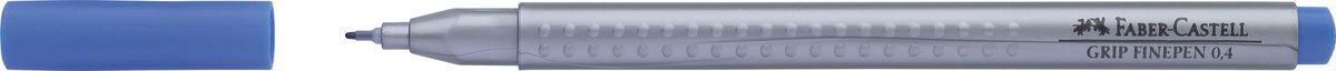 Faber-Castell Ручка капиллярная Grip цвет чернил синий faber castell ручка капиллярная grip цвет чернил карминовый