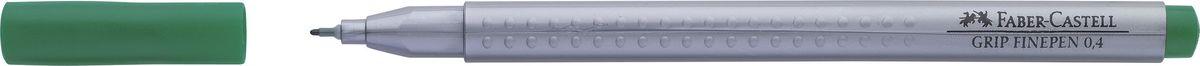 Faber-Castell Ручка капиллярная Grip цвет чернил изумрудный151663Капиллярная ручка Faber-Castell идеальна для письма, рисования, набросков. Она имеет эргономичную трехгранную форму.Характеристики: - запатентованная антискользящая зона Grip с малыми массажными шашечками; - толщина линии 0,4 мм, облегчает черчение с линейкой и рисование по шаблону); - корпус из полипропилена обеспечивает длительный срок хранения; - чернила на водной основе с добавлением пищевых красителей безопасны для детей; - вентилируемый колпачок; - отстирываются с большинства обычных тканей.