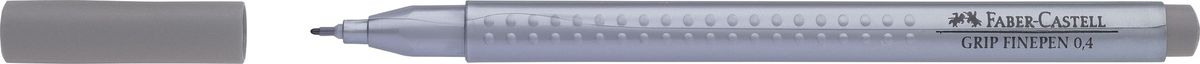 Faber-Castell Ручка капиллярная Grip 0,4 мм цвет чернил серый переходник thule 697 4 для установки бокса в t профиль power grip fast grip 20х20 мм