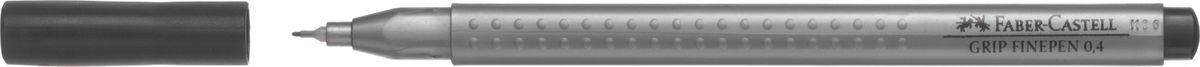 Faber-Castell Ручка капиллярная Grip 0,4 мм цвет чернил черный151699Капиллярные ручки Grip Finepen, трехгранные,эргономичная трехгранная форма • запатентованная антискользящая зона GRIP с малыми массажными шашечками • толщина линии 0,4 мм облегчает черчение с линейкой и рисование по шаблону) • корпус из полипропилена обеспечивает длительный срок хранения • чернила на водной основе с добавлением пищевых красителей безопасны для детей • вентилируемый колпачок • отстирываются с большинства обычных тканей, цвет черный