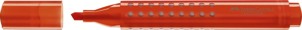 Faber-Castell Текстовыделитель Grip 1543 цвет оранжевый154315Текстовыделитель Faber-Castell с эргономичной трехгранной областью захвата станет незаменимым предметом, как на столе школьника, так истудента.Изделие имеет привлекательный полупрозрачный дизайн. Имеется возможность повторногонаполнения. Он идеален для всех видов бумаги. Чернила на водной основе.Линия маркировки шириной 5, 2 или1 мм.