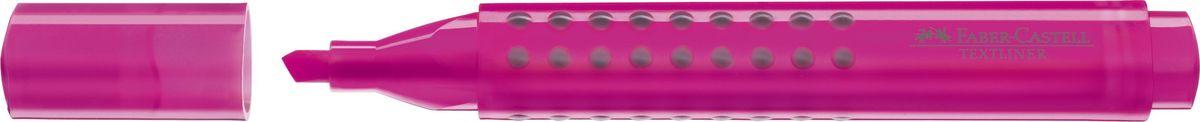 Faber-Castell Текстовыделитель Grip 1543 цвет розовый154328Текстовыделитель Faber-Castell с эргономичной трехгранной областью захвата станет незаменимым предметом как на столе школьника, так и студента.Изделие имеет привлекательный полупрозрачный дизайн. Имеется возможность повторного наполнения. Он идеален для всех видов бумаги. Чернила на водной основе.Линия маркировки шириной 5, 2 или 1 мм.