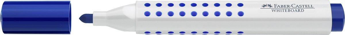 Faber-Castell Маркер для доски Grip цвет синий158351Маркер Faber-Castell удобен для письма на белой маркерной доске.Быстро сохнет, не имеет сильного запаха,легко стирается с доски, неоставляя следов. Характеристики:- эргономичная трехгранная область захвата;- привлекательный полупрозрачный дизайн; - простая система повторного наполнения чернилами.
