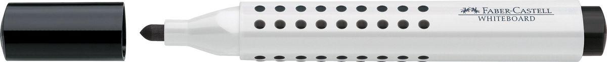 Faber-Castell Маркер для доски Grip цвет черный158399Маркер для белой доски Grip ,эргономичная трехгранная область захвата • привлекательный полупрозрачный дизайн • линия маркировки шириной 5, 2 или 1 мм • 4 ярких цвета • простая система повторного наполнения чернилами • контрастные цвета, быстрое высыхание, без сильного запаха, светостойкие • легко стирается с доски, не оставляя следов