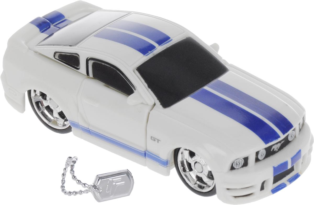 Maisto Трансформер '06 Ford Mustang GT цвет белый синий maisto модель автомобиля 2014 corvette stingray цвет красный