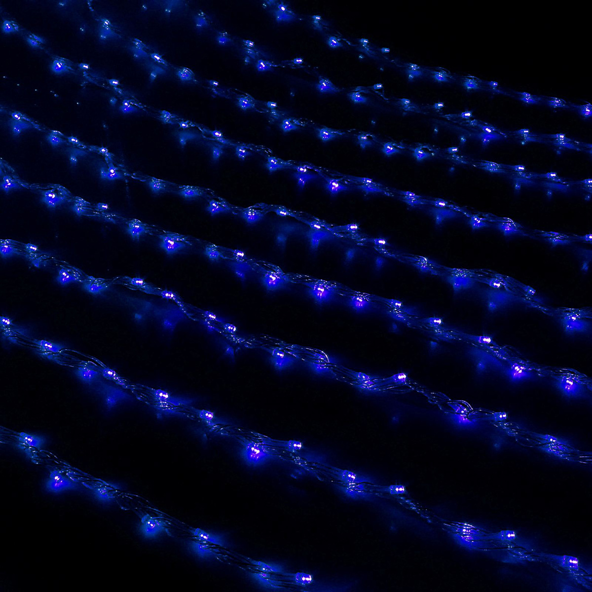 Гирлянда светодиодная Luazon Дождь, уличная, 8 режимов, 1500 ламп, 220 V, цвет: синий, 2 х 6 м. 706355706355Светодиодные гирлянды, ленты и т.д — это отличный вариант для новогоднего оформления интерьера или фасада. С их помощью помещение любого размера можно превратить в праздничный зал, а внешние элементы зданий, украшенные ими, мгновенно станут напоминать очертания сказочного дворца. Такие украшения создают ауру предвкушения чуда. Деревья, фасады, витрины, окна и арки будто специально созданы, чтобы вы украсили их светящимися нитями.