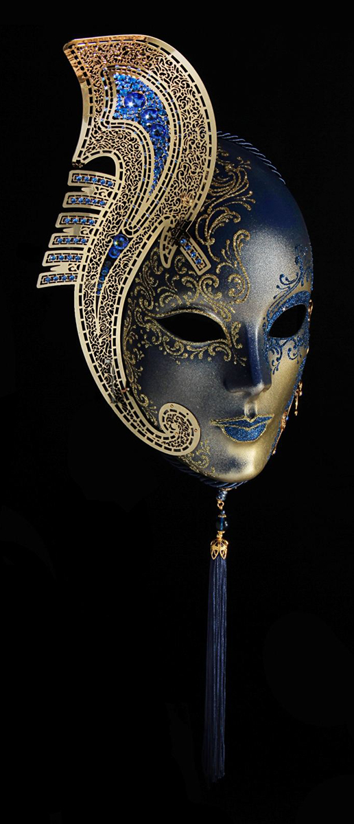 Маска карнавальная Bluemoon Venice  Volto Gondola , 15 ? 10 ? 23 см - Маски карнавальные