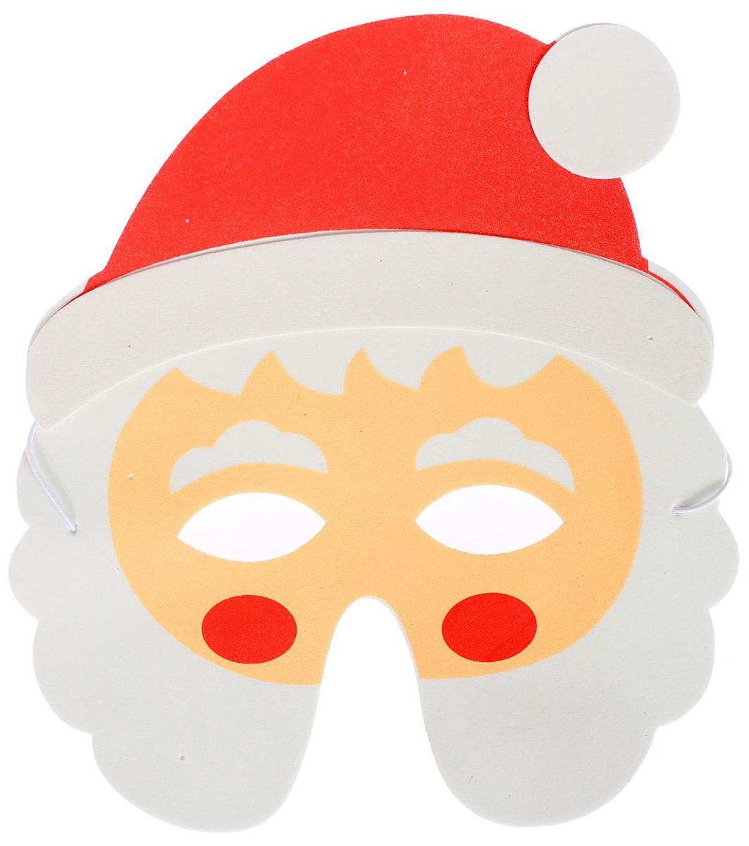 Маска карнавальная Страна Карнавалия  Дед Мороз . 730914 -  Маски карнавальные