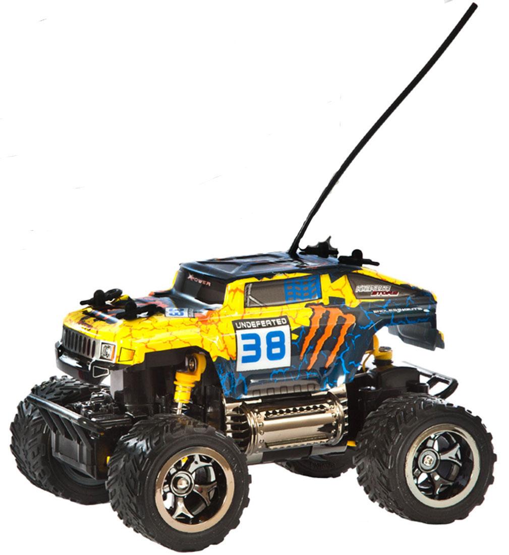 Пламенный мотор Джип на радиоуправлении цвет синий 870265