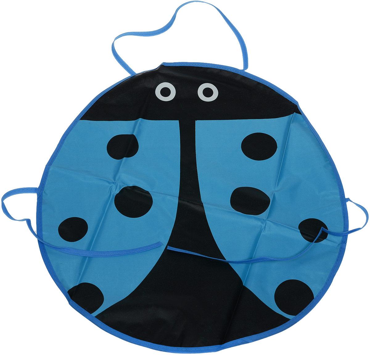 Школа талантов Фартук детский Божья коровка цвет синий -  Аксессуары для труда