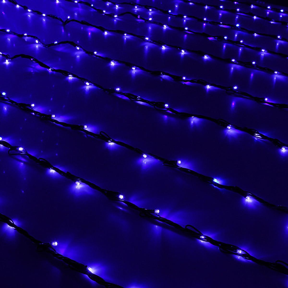 Гирлянда светодиодная Luazon Дождь, уличная, 8 режимов, 2000 ламп, 220 V, цвет: синий, 2 х 9 м. 10801941080194Светодиодные гирлянды, ленты и т.д — это отличный вариант для новогоднего оформления интерьера или фасада. С их помощью помещение любого размера можно превратить в праздничный зал, а внешние элементы зданий, украшенные ими, мгновенно станут напоминать очертания сказочного дворца. Такие украшения создают ауру предвкушения чуда. Деревья, фасады, витрины, окна и арки будто специально созданы, чтобы вы украсили их светящимися нитями.