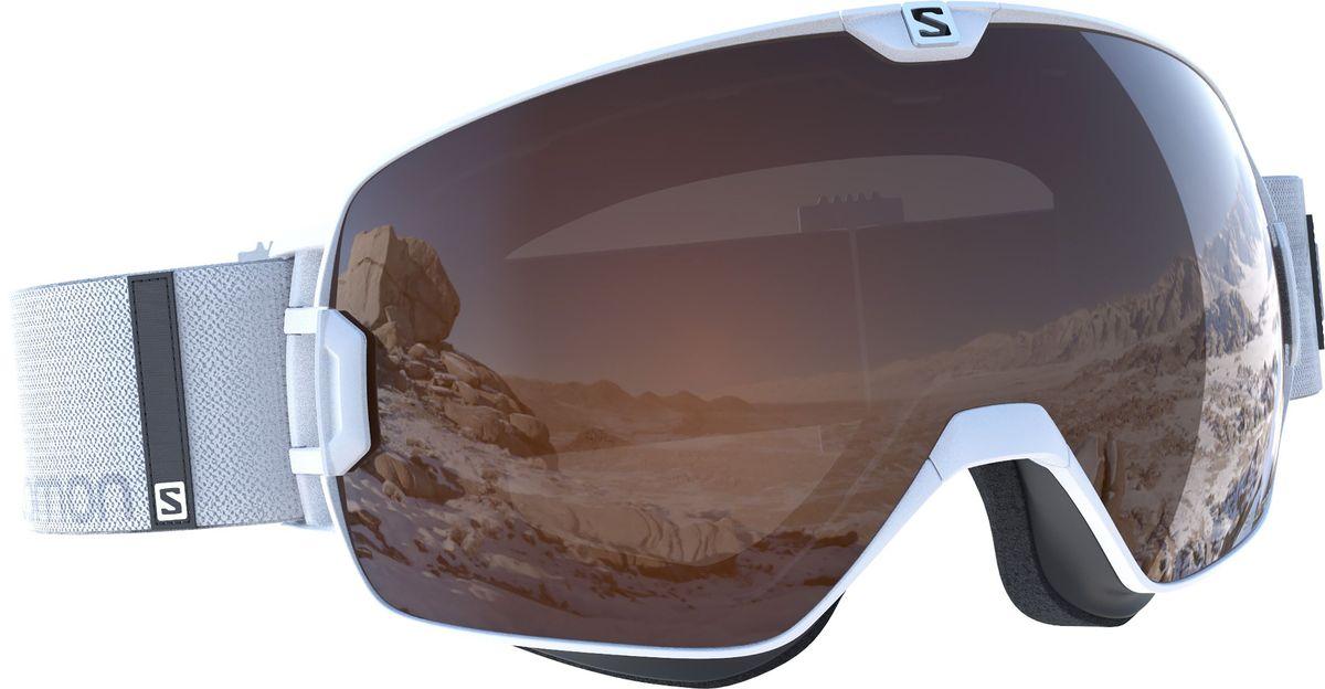 Маска горнолыжная Salomon Xmax Access Wh/Solar T.OrangeL39080100Горнолыжная маска с широким углом обзора адаптируется к любой форме лица, для точной и удобной посадки. Антизапотевающее покрытие в сочетании с дополнительным покрытием, устойчивым к таким повреждениям, как царапины и потертости, делает линзы более долговечными, сохраняется четкость видимости. Цилиндрические линзы обеспечивают широкий угол обзора. Широкий ремешок хорошо сидит на шлеме или шапочке.