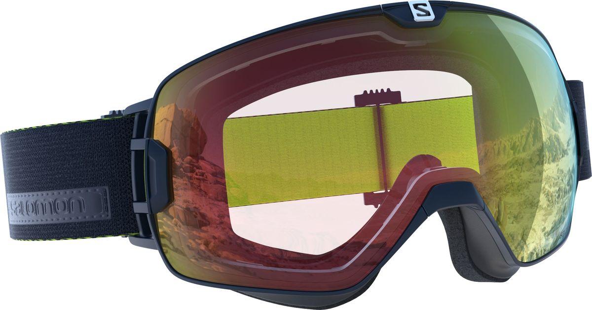 Маска горнолыжная Salomon Xmax Photo Dress Blue/Aw RedL39908000Горнолыжная маска с широким углом обзора адаптируется к любой форме лица, для точной и удобной посадки. Антизапотевающее покрытие в сочетании с дополнительным покрытием, устойчивым к таким повреждениям, как царапины и потертости, делает линзы более долговечными, сохраняется четкость видимости. Цилиндрическиелинзы обеспечивают широкий угол обзора. Задерживают 100% ультрафиолетовых лучей, помогая предотвратить любые повреждения глаз солнцем. Широкий ремешок хорошо сидит на шлеме или шапочке.