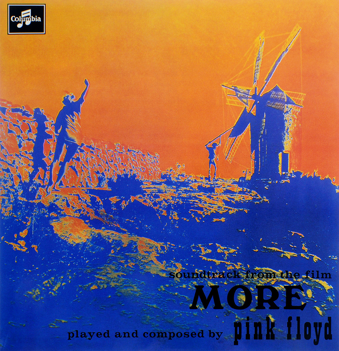 Pink Floyd. Soundtrack From The Film More (LP) pink floyd pink floyd atom heart mother lp