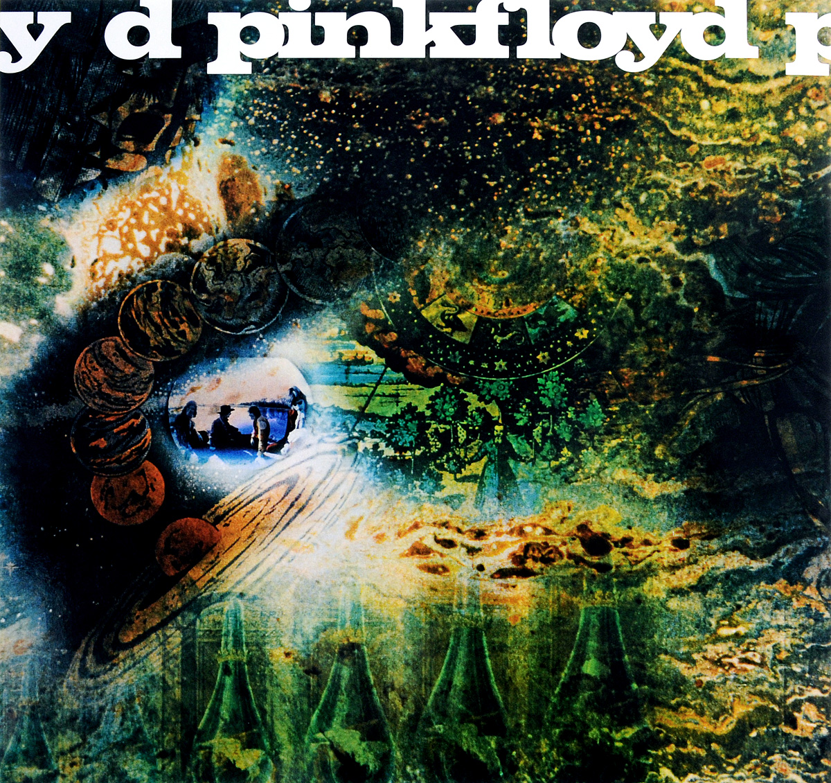 Pink Floyd Pink Floyd. A Saucerful Of Secrets (LP) pink floyd pink floyd atom heart mother lp