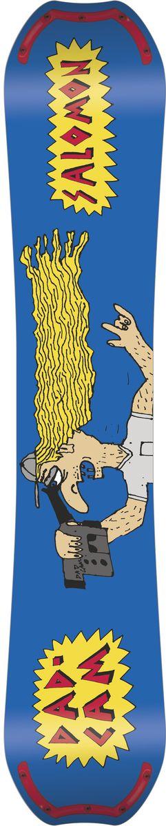 """Сноуборд Salomon """"Salomonder"""" сочетает в себе самые прогрессивные конструкции для паудера и фристайла: ABC Green Roll и Popster Eco Booster, боковой вырез EQ Rad и профиль Rock Out Camber. С таким арсеналом Rumble Fish готов сокрушить что угодно.  Как выбрать сноуборд. Статья OZON Гид"""