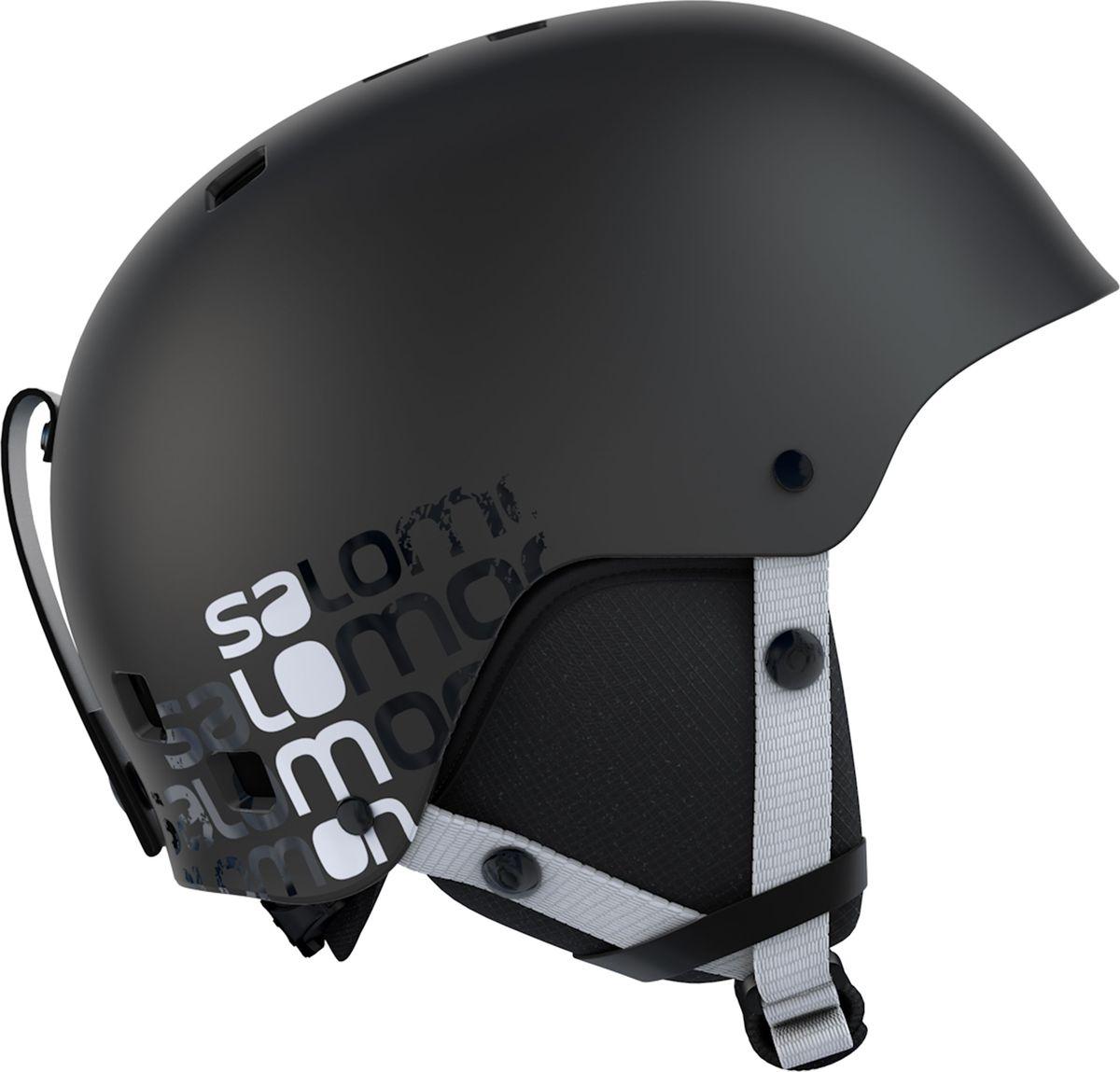 Шлем зимний Salomon Ghost Black. Размер L (58/62) шлем боксерский clinch olimp цвет красный размер l 58 62 см