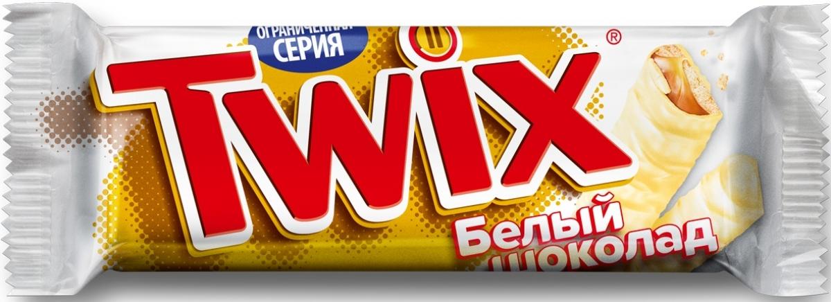 Twix белый шоколадный батончик, 55 г0079006047Шоколадные батончики Twix Xtra - это еще больше хрустящего печенья, густой карамели и великолепного молочного шоколада. Чаепитие с Twix в компании коллег, друзей или родных - отличное способ провести свободное время. Сделай паузу - скушай Twix.