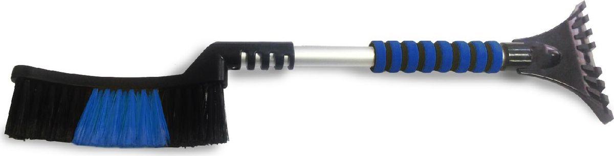 Щетка-скребок AVS WB-6321, распушенная щетина, 63 cмA78468SЩётка-скребок AVS WB-6321 (63 cм), мягкая ручка, распушенная щетина.