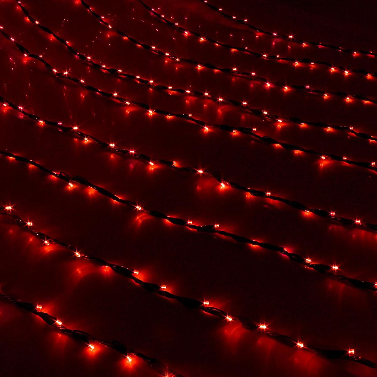 Гирлянда светодиодная Luazon Дождь, уличная, 8 режимов, 800 ламп, 220 V, цвет: красный, 2 х 3 м. 187304187304Светодиодные гирлянды, ленты и т.д — это отличный вариант для новогоднего оформления интерьера или фасада. С их помощью помещение любого размера можно превратить в праздничный зал, а внешние элементы зданий, украшенные ими, мгновенно станут напоминать очертания сказочного дворца. Такие украшения создают ауру предвкушения чуда. Деревья, фасады, витрины, окна и арки будто специально созданы, чтобы вы украсили их светящимися нитями.