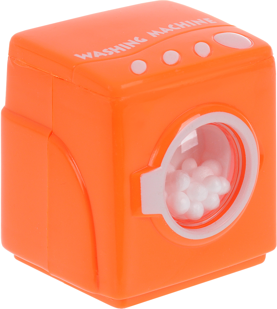 EstaBella Заводная игрушка Стиральная машинка цвет оранжевый игрушка заводная машинка перевертыш цвет голубой красный