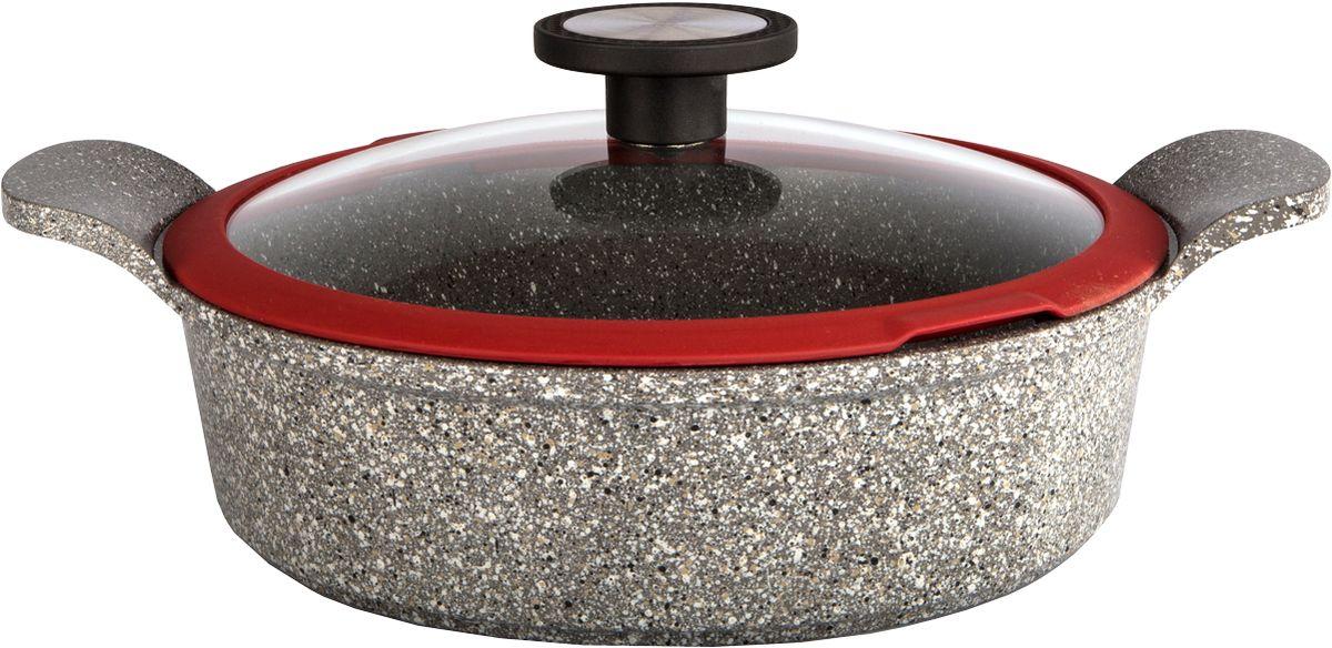 Размер: 24 смТолщина дна: 4.3 ммЦвет: серыйКоллекция Ozen - мы постарались сделать кулинарный процесс творческим, ярким и приятным! Керамическое антипригарное покрытие Xtrema - новейший продукт нанотехнологий, в производстве которого используются только натуральные материалы: камень и песок.