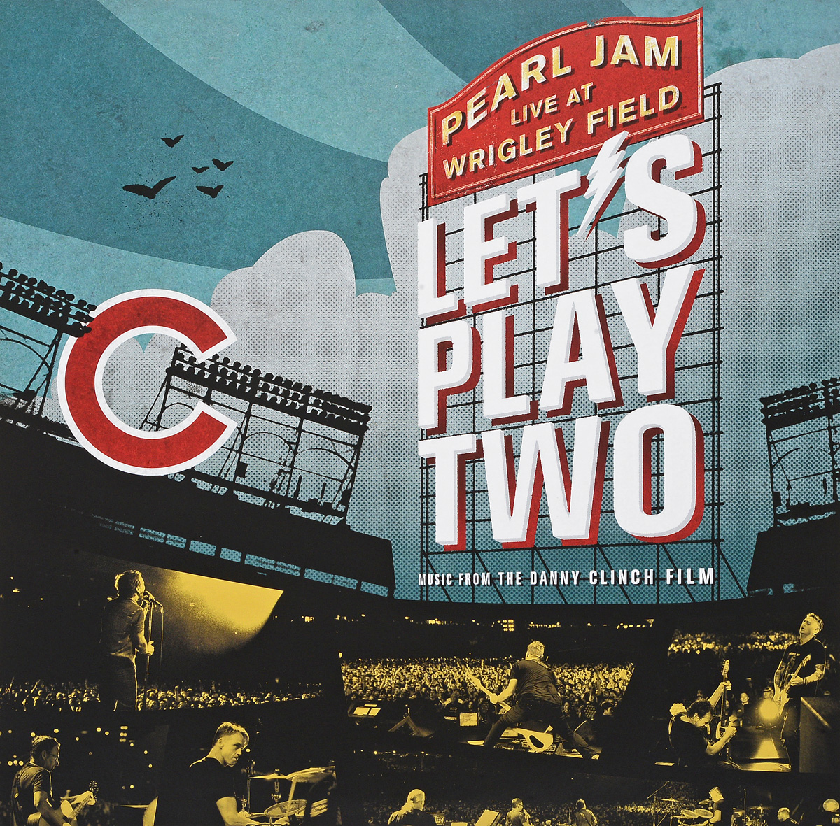 Pearl Jam Pearl Jam. Let's Play Two (2 LP) pearl jam let s play two dvd cd