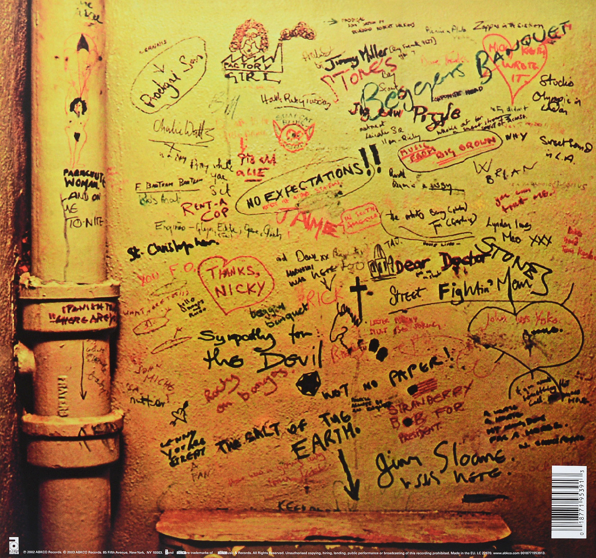 The Rolling Stones.  Beggars Banquet (LP) ABKCO Records