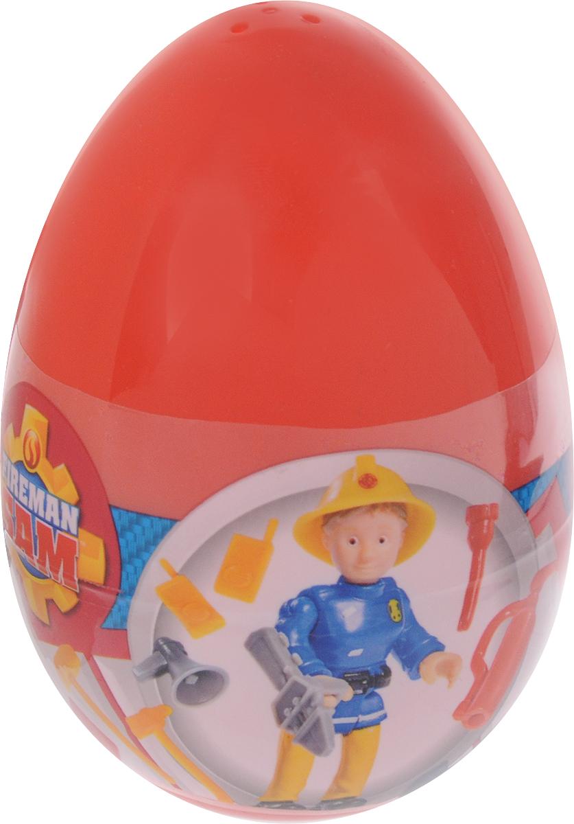 Simba Фигурка в яйце Пожарный Сэм цвет яйца красный квадроцикл simba пожарный сэм меркурий со светом фигурка и акс 11 16 12см