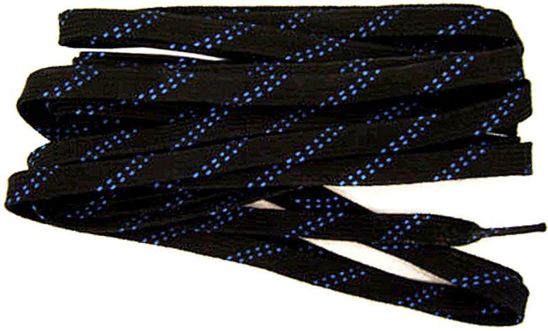 Шнурки для коньков Tex Style, с пропиткой, цвет: черный, 2,44 м, 2 штУТ-00007775Шнурки для коньков Tex Style с пропиткой - это шнурки уникальной разработки, они гарантируют правильное количество воска в структуре шнурка, которое предотвращает их шелушение и развязывание.Назначение: для фигурных и хоккейных коньков.Материал: 100% хлопок.