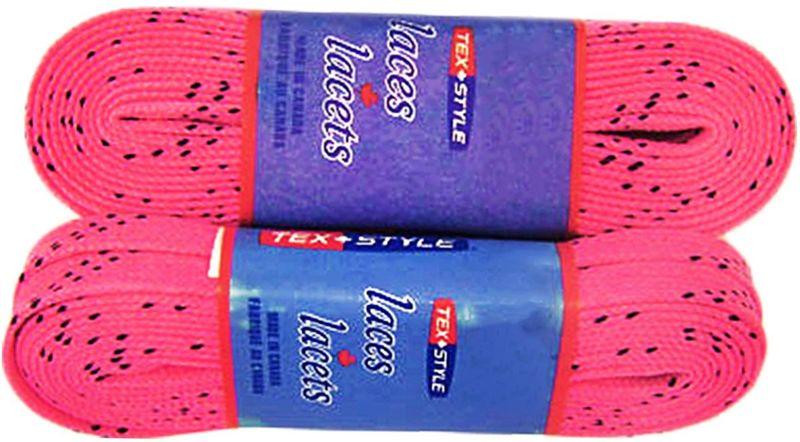 Шнурки для коньков Tex Style, с пропиткой, цвет: розовые, 3,05 м, 2 штУТ-00007801Шнурки для коньков Tex Style с пропиткой - это шнурки уникальной разработки, они гарантируют правильное количество воска в структуре шнурка, которое предотвращает их шелушение и развязывание.Назначение: для фигурных и хоккейных коньков.Материал: 100% хлопок.
