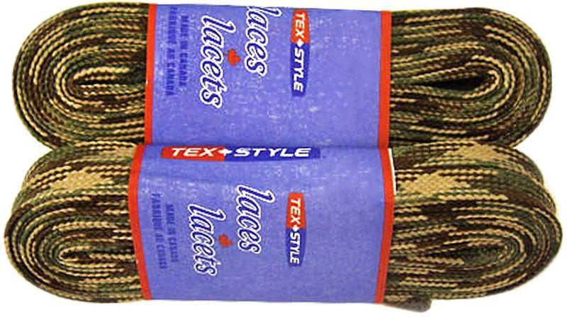 Шнурки для коньков Tex Style, с пропиткой, цвет: хаки, 3,05 м, 2 штУТ-00007804Шнурки для коньков Tex Style с пропиткой - это шнурки уникальной разработки, они гарантируют правильное количество воска в структуре шнурка, которое предотвращает их шелушение и развязывание.Назначение: для фигурных и хоккейных коньков.Материал: 100% хлопок.