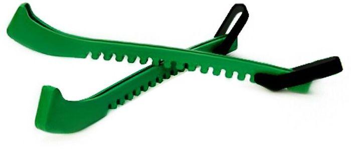 """Чехол на лезвия коньков """"Ice Blade"""", цвет: зеленый, 2 шт"""