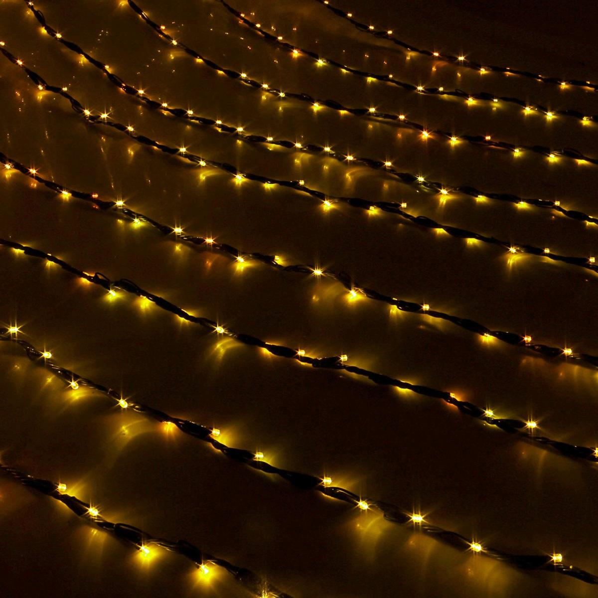Гирлянда светодиодная Luazon Дождь, уличная, 800 ламп, 220 V, цвет: желтый, 2 х 3 м. 187326187326Светодиодные гирлянды, ленты и т.д — это отличный вариант для новогоднего оформления интерьера или фасада. С их помощью помещение любого размера можно превратить в праздничный зал, а внешние элементы зданий, украшенные ими, мгновенно станут напоминать очертания сказочного дворца. Такие украшения создают ауру предвкушения чуда. Деревья, фасады, витрины, окна и арки будто специально созданы, чтобы вы украсили их светящимися нитями.
