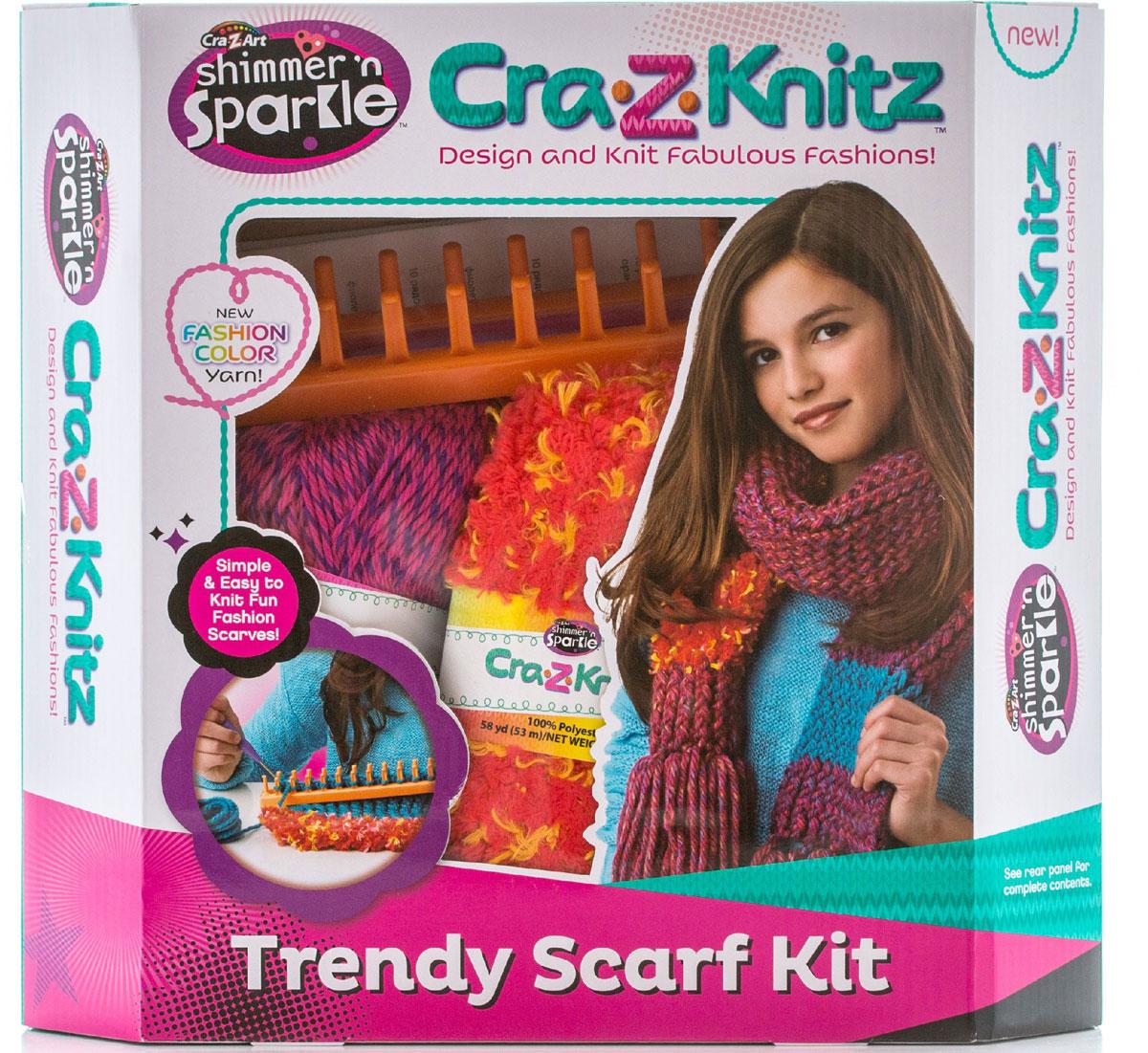 Cra-Z-Knitz Набор для вязания Шарф 17121A