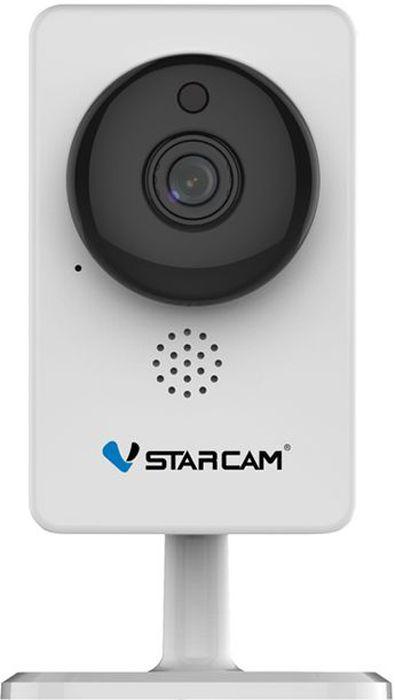Vstarcam C8892WIP, White IP камераС8892WIPVstarcam C8892WIP - это новейшая и самая компактная WIFI IP камера из линейки Vstarcam с поддержкой технологии p2p (простая настройка), Full HD качеством видео (1920 на 1080 пикс), ИК подсветкой до 10 метров, современным дизайном. Vstarcam C8892WIP - это идеальное соотношение низкой стоимости и широкого функционала в миниатюрном исполнении.