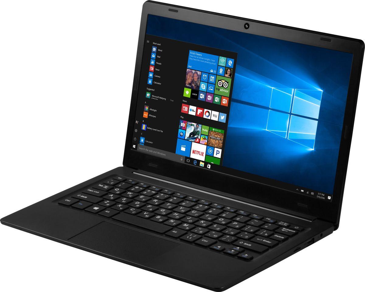 Prestigio Smartbook 116C, Black (PSB116C01BFH)8595248139169Prestigio Smartbook 116С – производительный и компактный ноутбук с экраном 11.6, полной версией ОС Windows и универсальным набором портов, который станет надежным спутником для учёбы, работы и развлечений везде, где вы есть. При толщине корпуса всего в 1,4 см и весе в 1 кг ноутбук кажется совсем невесомым, несмотря на довольно серьёзную начинку.4-ядерный процессор Intel Atom Z8350 (частота до 1,92 ГГц) призван справляться с любыми задачами, которые будет ставить ему владелец – будь то офисная работа с большим количеством рабочих приложений и вкладок, серфинг в Интернете или просмотр фильмов. 2 ГБ оперативной памяти помогут быстро переключаться между задачами, а 32 ГБ внутренней памяти можно легко увеличить за счёт облачных сервисов или внешнего жёсткого диска – поддерживается полноразмерный высокоскоростной USB 3.0. А батареи ёмкостью 8 000 мАч хватит на полный рабочий день – вы будете думать только о нужном, не обращая внимания на поиски розетки.11.6-дюймовый экран выполнен по технологии IPS и имеет разрешение Full HD – это значит, что ваши глаза не будут уставать. Яркости и чёткости экрана вполне достаточно, чтобы работать в светлом помещении или даже на улице в солнечный день.С Windows 10 Home, установленной на Smartbook 116C, вы сможете наслаждаться всеми преимуществами современной операционной системы. Интуитивно понятный интерфейс поможет быстрее и эффективнее справляться с задачами, улучшенная производительность позволит вам почувствовать новый уровень мощности, а благодаря дополнительным сервисам и приложениям каждая секунда с новым устройством будет полна комфорта и восхищения.Smartbook 116С не нуждается в переходниках: универсальный набор портов позволяет организовать мобильный офис в считанные минуты. С помощью порта mini HDMI, полноразмерного USB 3.0 и USB 2.0 вы без проблем подключите большой экран, мышь, принтер или сканер.Точные характеристики зависят от модификации.Ноутбук сертифицирован EAC 