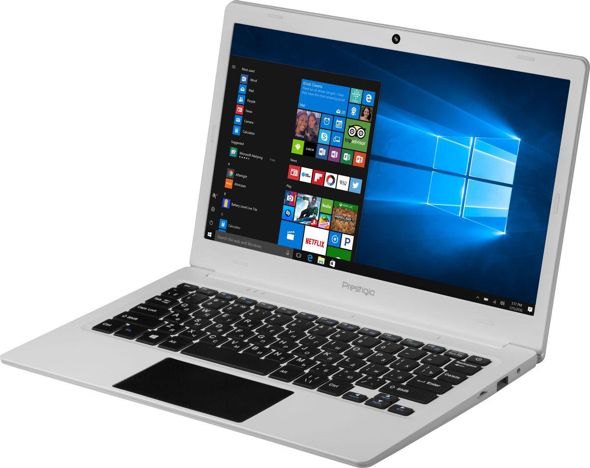 Prestigio Smartbook 116C, White (PSB116C01BFH)8595248139183Prestigio Smartbook 116С - производительный и компактный ноутбук с экраном 11.6, полной версией ОС Windows и универсальным набором портов, который станет надежным спутником для учёбы, работы и развлечений везде, где вы есть. При толщине корпуса всего в 1,4 см и весе в 1 кг ноутбук кажется совсем невесомым, несмотря на довольно серьёзную начинку.4-ядерный процессор Intel Atom Z8350 (частота до 1,92 ГГц) призван справляться с любыми задачами, которые будет ставить ему владелец - будь то офисная работа с большим количеством рабочих приложений и вкладок, серфинг в Интернете или просмотр фильмов. 2 ГБ оперативной памяти помогут быстро переключаться между задачами, а 32 ГБ внутренней памяти можно легко увеличить за счёт облачных сервисов или внешнего жёсткого диска - поддерживается полноразмерный высокоскоростной USB 3.0. А батареи ёмкостью 8 000 мАч хватит на полный рабочий день - вы будете думать только о нужном, не обращая внимания на поиски розетки.11.6-дюймовый экран выполнен по технологии IPS и имеет разрешение Full HD - это значит, что ваши глаза не будут уставать. Яркости и чёткости экрана вполне достаточно, чтобы работать в светлом помещении или даже на улице в солнечный день.С Windows 10 Home, установленной на Smartbook 116C, вы сможете наслаждаться всеми преимуществами современной операционной системы. Интуитивно понятный интерфейс поможет быстрее и эффективнее справляться с задачами, улучшенная производительность позволит вам почувствовать новый уровень мощности, а благодаря дополнительным сервисам и приложениям каждая секунда с новым устройством будет полна комфорта и восхищения.Smartbook 116С не нуждается в переходниках: универсальный набор портов позволяет организовать мобильный офис в считанные минуты. С помощью порта mini HDMI, полноразмерного USB 3.0 и USB 2.0 вы без проблем подключите большой экран, мышь, принтер или сканер.Точные характеристики зависят от модификации.Ноутбук сертифицирован EAC 