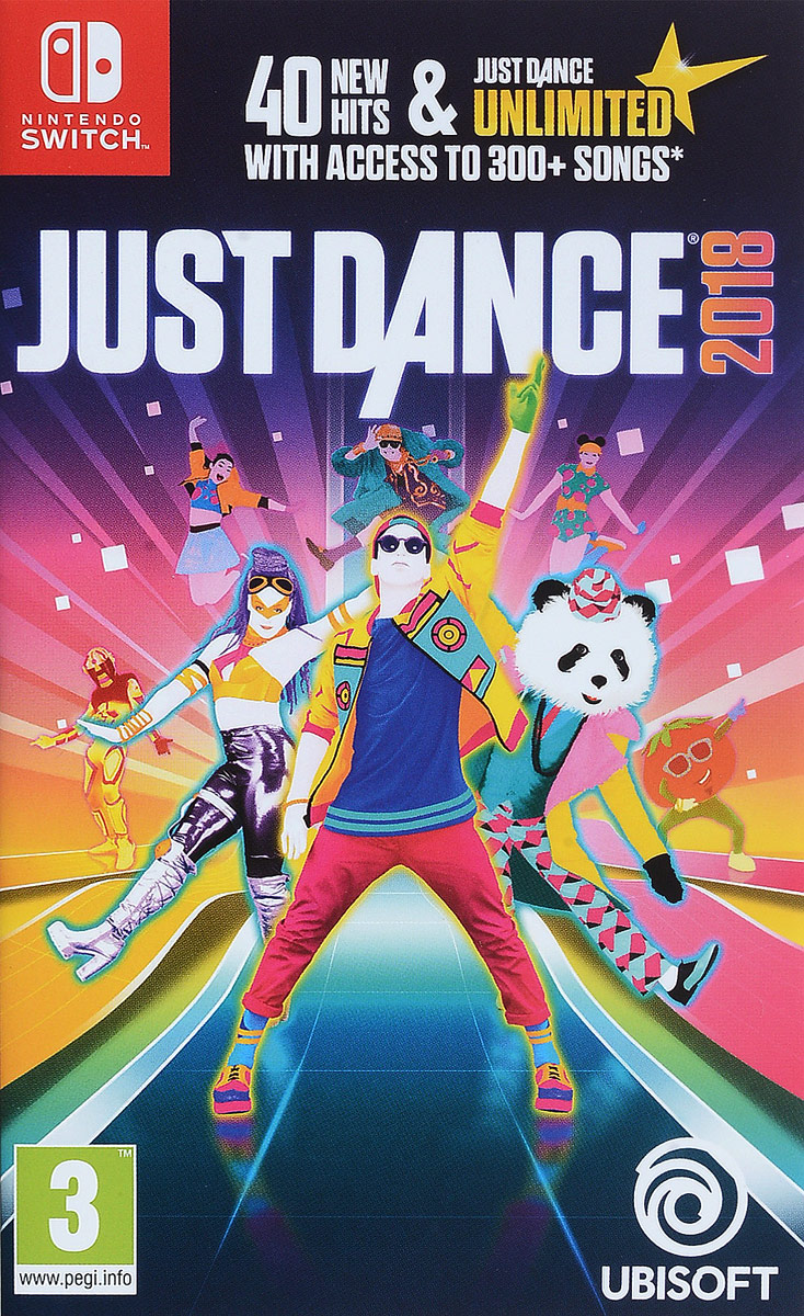 Just Dance 2018 (Nintendo Switch) видеоигра для ps4 just dance 2018