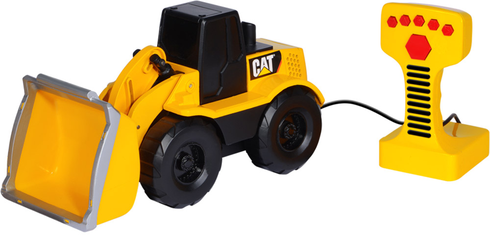 Toystate Погрузчик на дистанционном управлении Cat машинки toystate машинка toystate