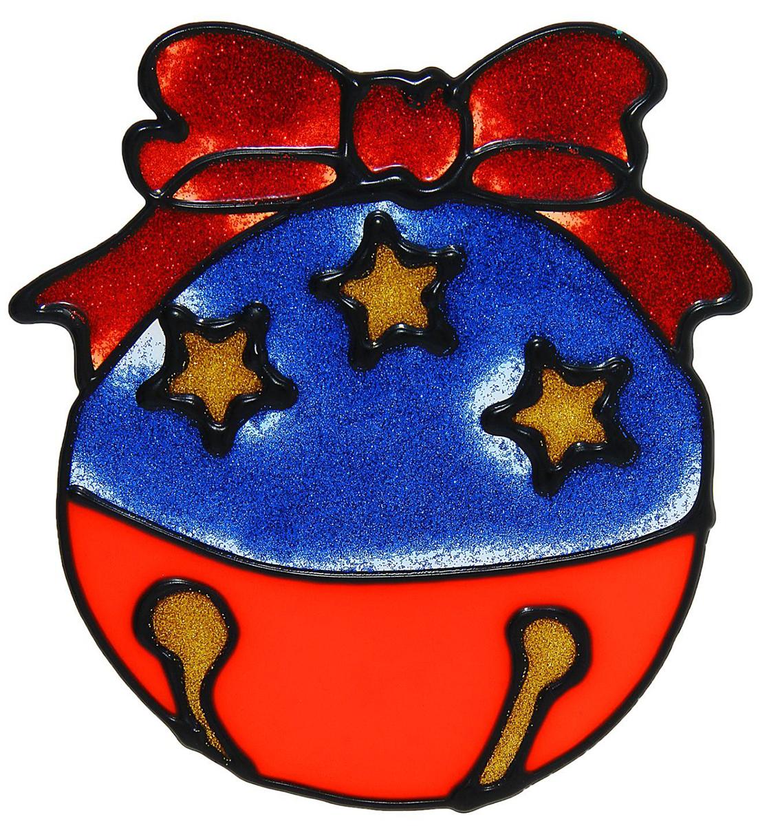 Украшение новогоднее оконное NoName Шарик, 12 х 13 см1113533Новогоднее оконное украшение NoName Шарик поможет украсить дом к предстоящим праздникам. Яркая наклейка крепится к гладкой поверхности стекла посредством статического эффекта. С помощью такого украшения вы сможете оживить интерьер по своему вкусу.Новогодние украшения всегда несут в себе волшебство и красоту праздника. Создайте в своем доме атмосферу тепла, веселья и радости, украшая его всей семьей.